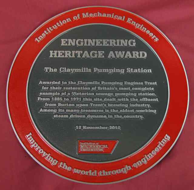 [ Engineering Heritage Award Plaque ]